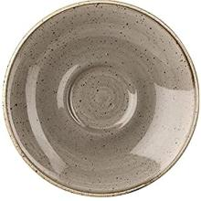 Churchill Stonecast Peppercorn Grey cappuccino schotel ø 15.6 cm Productfoto