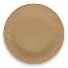 Verive papieren bord kraft ø 18 cm bruin Productfoto