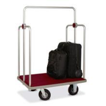 Hotel bagagewagen zilver Productfoto