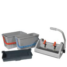 Numatic mopkit SGA-3 emmer 15L + 22L +speedclean pers grijs Productfoto