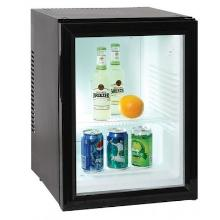 Minibar Courtoisy 40 L glass door zwart Productfoto