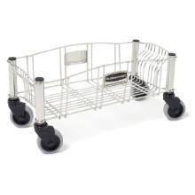 Rubbermaid stalen trolley 51.6x23.6x24.1 cm tbv afvalbak Slim Jim 60/87L Productfoto