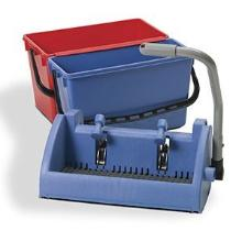 Numatic BK-3 kit emmer 15L blauw+22L rood+speedclean pers Productfoto