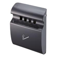 Asbak wandmodel robuust zwart Productfoto