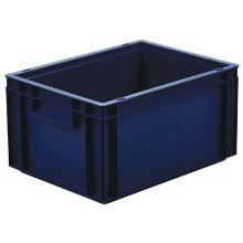 Euronorm-bak voor voedingsmiddelen 40x30x21.4 cm 19L blauw Productfoto