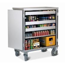 Minibar voorraadwagen Oasis 333 exclusief laden/plateau Productfoto