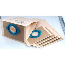 Nilfisk papieren stofzuigerzak GS 70/80/90 6.5L bruin Productfoto