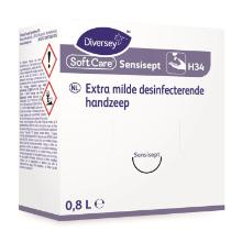 Diversey Soft Care Sensisept H34 handzeep 800 ml Productfoto