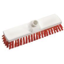 Diversey Suma vloerschrobber hard 22.5 cm rood Productfoto