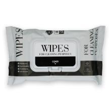 Sanitizing wipes 15x20 cm wit 45 doekjes per pak Productfoto