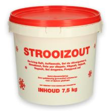 Strooizout in emmer 7.5 kg Productfoto