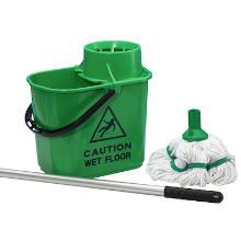 Diversey Taski 2c spaanse mop emmer groen Productfoto