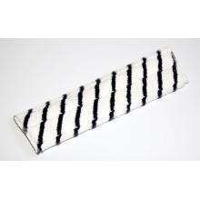 Diversey Taski JM Pro microvezel vlakmop scrub 40 cm grijs/wit Productfoto