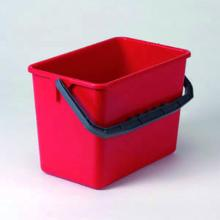 Ecolab emmer rood 6L Productfoto