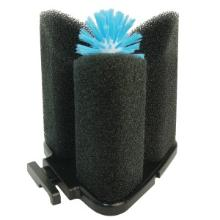 AquaFox AquaBrush Original kunststof bierglasborstel 195x165x210 mm zwart/blauw Productfoto