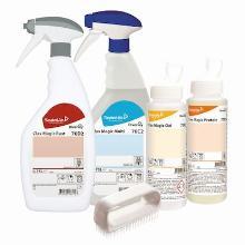 Diversey Clax Magic starterkit vlekkenverwijderaar - Protein/Oxi/Multi/Rust Productfoto
