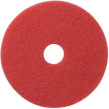 Ecolab vloerpad 17 inch / 43.2 cm rood Productfoto
