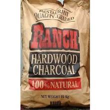 Professionele houtskool RANCH zak à 15 kg Productfoto