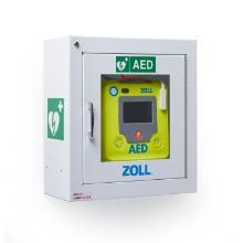 AED3 metalen wandkast wit Productfoto