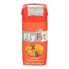 FlyFit multifruit & vitamins drink Productfoto