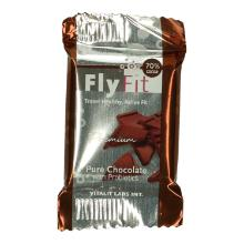 FlyFit dark chocolate with probiotics Productfoto