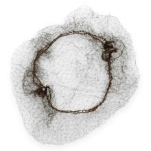 Nylon haarnet zwart Productfoto
