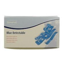 Detecteerbare pleister 1.9x7.2cm blauw Productfoto