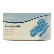 Detecteerbare pleister 2.5x7.2cm blauw Productfoto