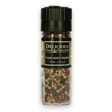 Condiment 4 seizoenen pepermolen 90 ml Productfoto
