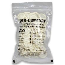 Latex vingercondoom M met rolrand HACCP Productfoto