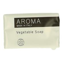 Aroma rectangular soap 14 gr wrapped vegan friendly Productfoto
