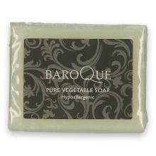 Baroque wrapped soap 25 gr wit Productfoto