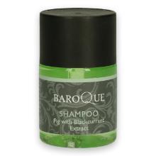 Baroque shampoo bottle 33 ml groen transparant Productfoto