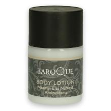 Baroque body lotion bottle 32 ml mat wit Productfoto