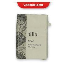 Tilia wrapped soap 25 gr wit Productfoto