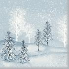 Duni Winter Mornings tissue servet 33x33 cm 3-laags Productfoto