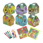 Funbox jungle lion m/kleurenboek+potlood Productfoto