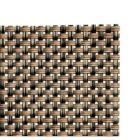 Placemat PVC 45x33cm smalle band beige/bruin Productfoto