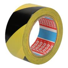 Tape PVC zwart/geel 5 cm x 33 mtr tesa 60670 Productfoto