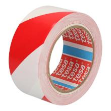 Tape PVC rood/wit 5 cm x 33 mtr tesa 60760 Productfoto