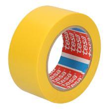 Tape pvc geel 5 cm x 33 mtr tesa 60670 Productfoto