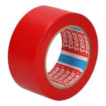 Tape pvc rood 50mmx33mtr tesa 60760 Productfoto