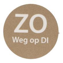 Etiket papier HACCPzo weg op di Productfoto
