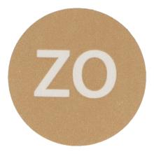 Etiket papier HACCP bruinzondag Productfoto