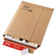 Envelop golfkarton F golf 1,2 mm bruin nr 3 23,5 x 34 x -3,5 cm #2 Productfoto