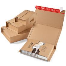 Boekverpakking golfkarton B golf 3 mm bruin nr 9 45,5 x 32 x -7 cm #2 Productfoto