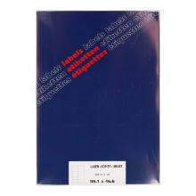 Etiket laser inktjet wit 9,91 x 4,66 cm 12 stuks op A4 vel Productfoto