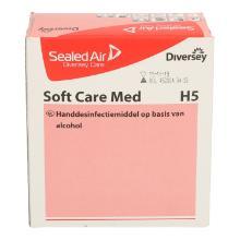 Handdesinfectiegel Soft Care Med H5 pak van 800 ml Productfoto