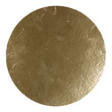Bodem karton zilver/goud rond 21 cm tbv geschenkverpakking zak Productfoto