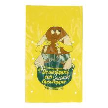 Aardappelzak LDPE geel 26 x 43 cm 2,5 kg Productfoto
